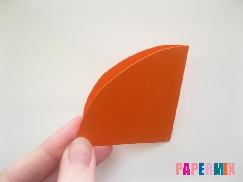 Новогодняя игрушка петух из бумаги своими руками - шаг 3