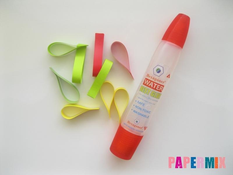 Новогодняя игрушка петух из бумаги своими руками - шаг 5