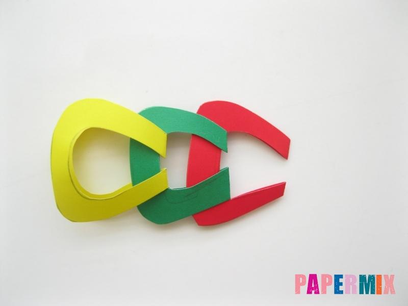 Новогодняя гирлянда из разноцветных звеньев своими руками - шаг 7