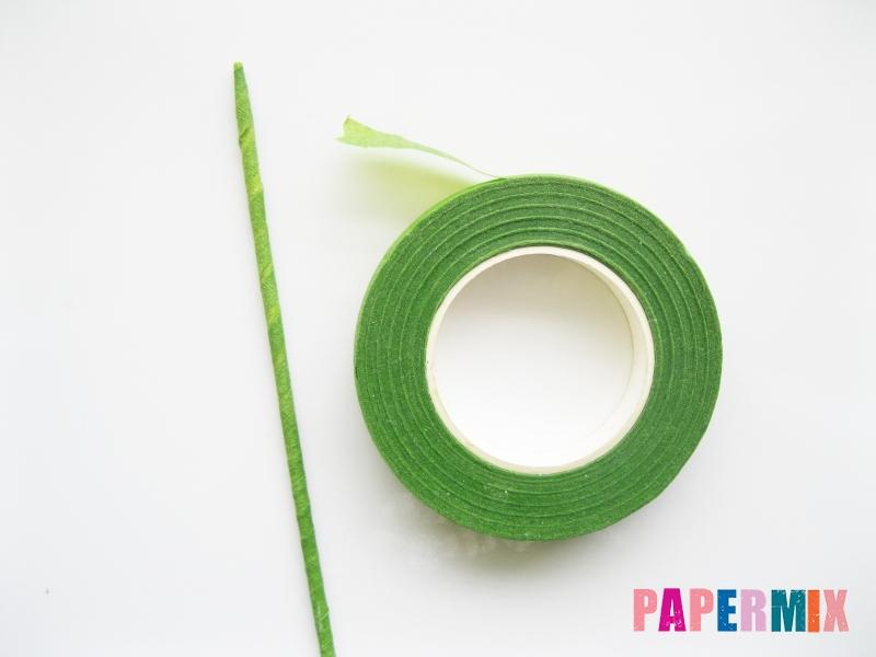 Как сделать цветы гиацинты из цветной бумаги поэтапно - шаг 1