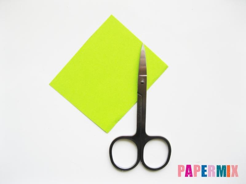 Как сделать цветы гиацинты из цветной бумаги поэтапно - шаг 10