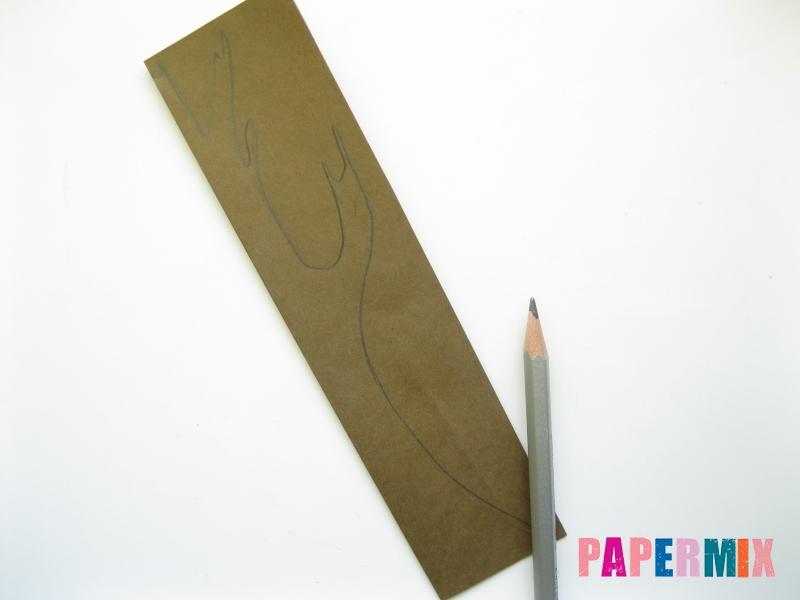 Как сделать дуб из бумаги своими руками - шаг 1