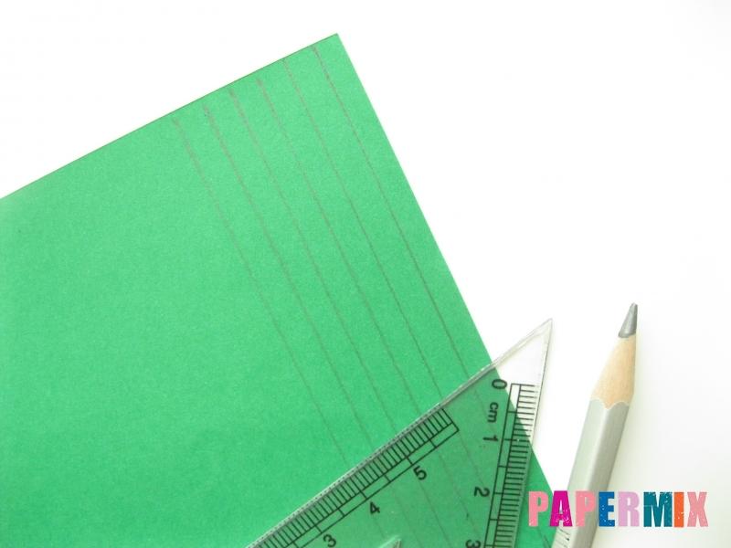Как сделать фиалки из бумаги поэтапно - шаг 1