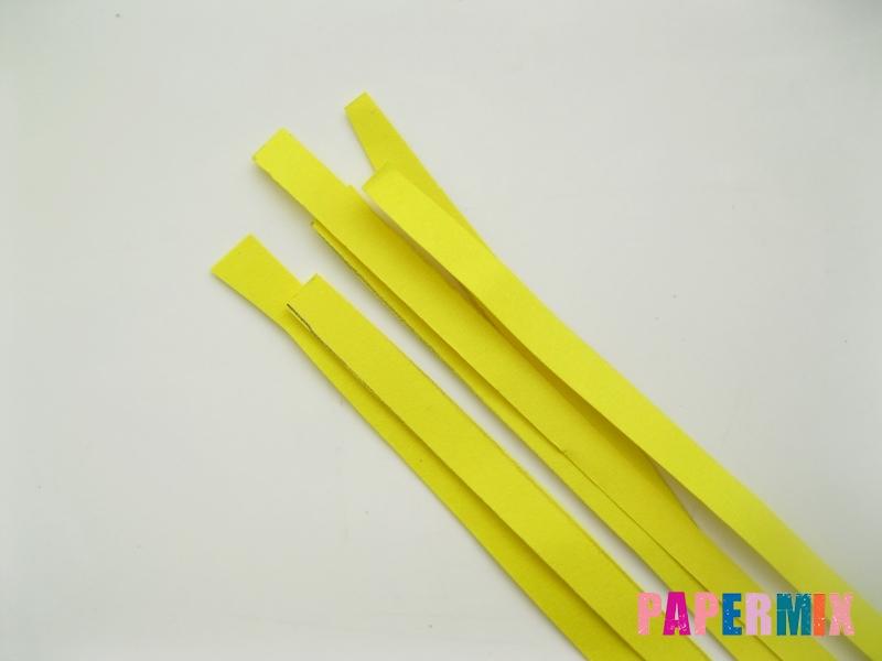 Как сделать фиалки из бумаги поэтапно - шаг 7