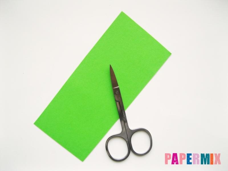 Как сделать ирис из гофрированной бумаги поэтапно - шаг 13