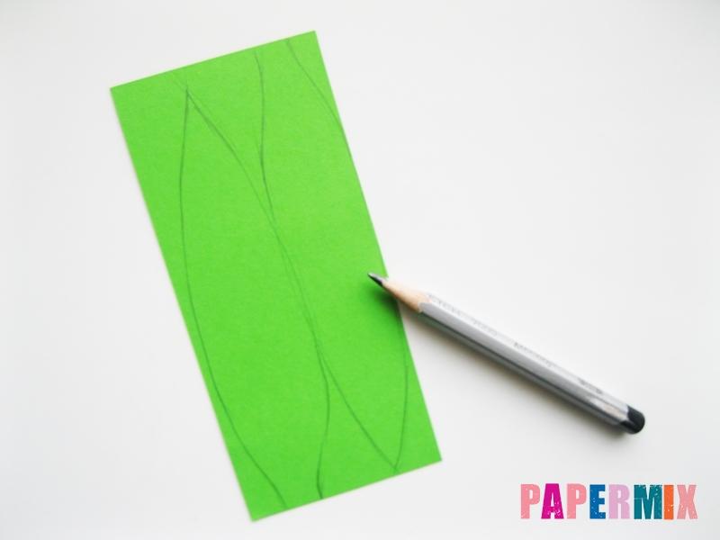 Как сделать ирис из гофрированной бумаги поэтапно - шаг 14