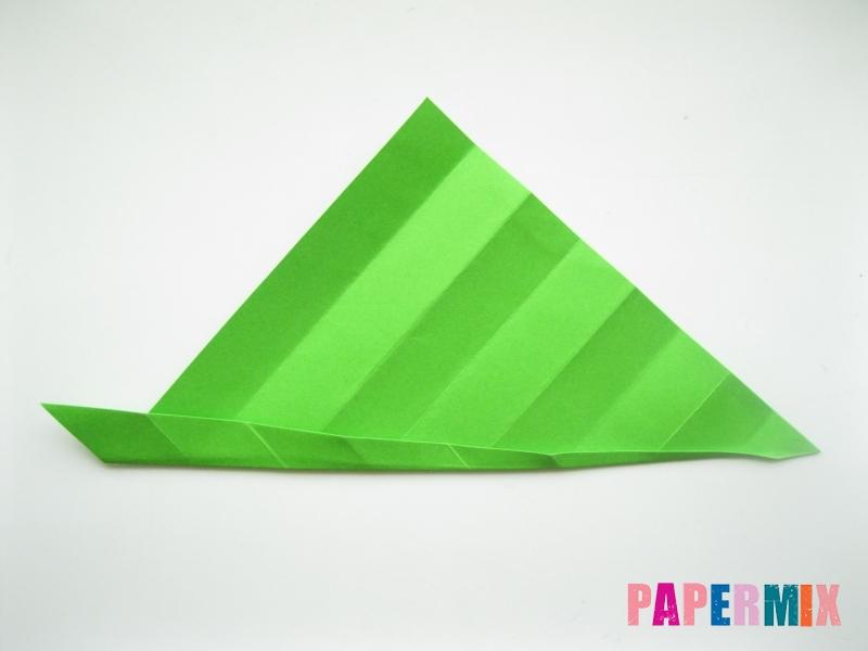 Как сделать листья из бумаги своими руками - шаг 10