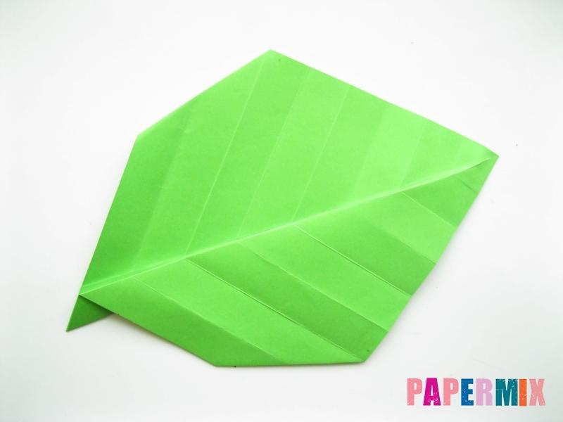 Как сделать листья из бумаги своими руками - шаг 12