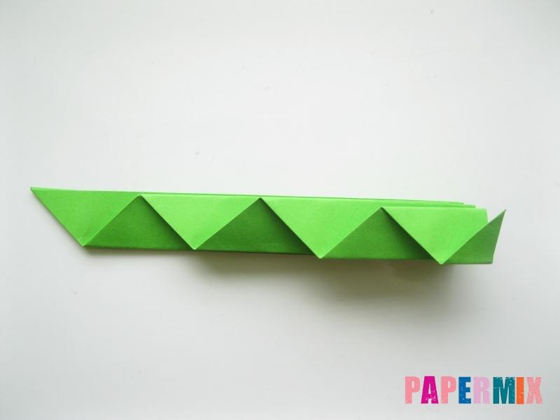 Как сделать листья из бумаги своими руками - шаг 7