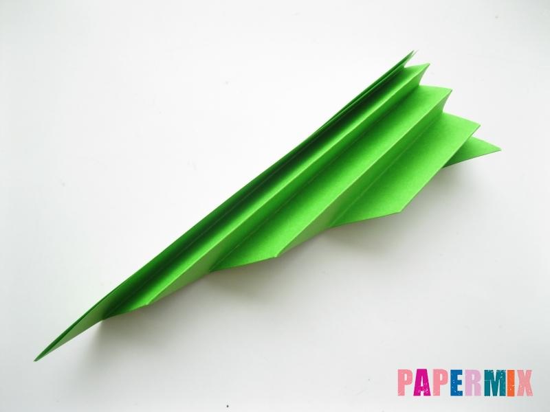 Как сделать листья из бумаги своими руками - шаг 8