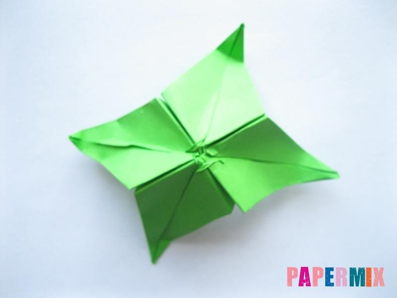 Как сделать пальму из бумаги (оригами) поэтапно - шаг 10