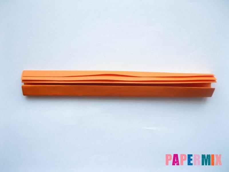 Как сделать пальму из бумаги (оригами) поэтапно - шаг 14