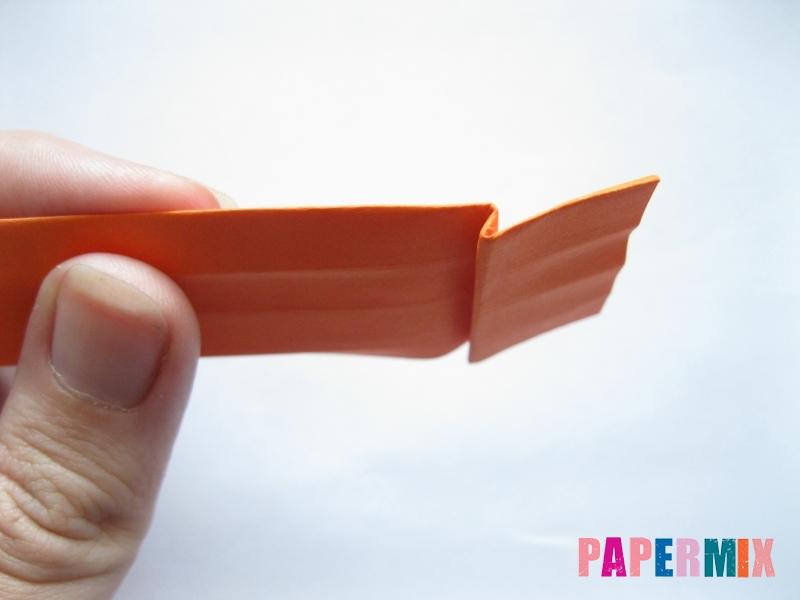 Как сделать пальму из бумаги (оригами) поэтапно - шаг 16