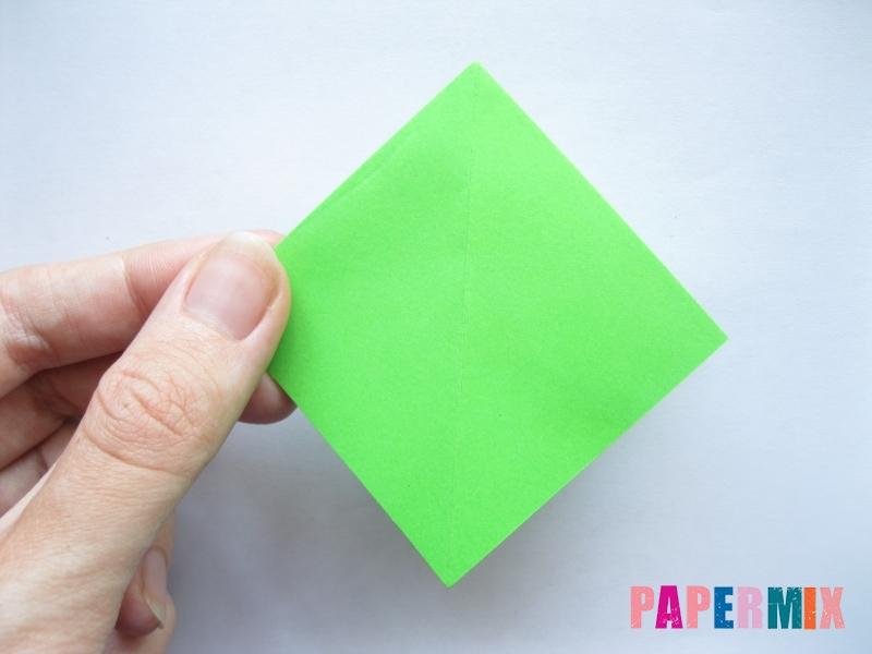 Как сделать пальму из бумаги (оригами) поэтапно - шаг 2