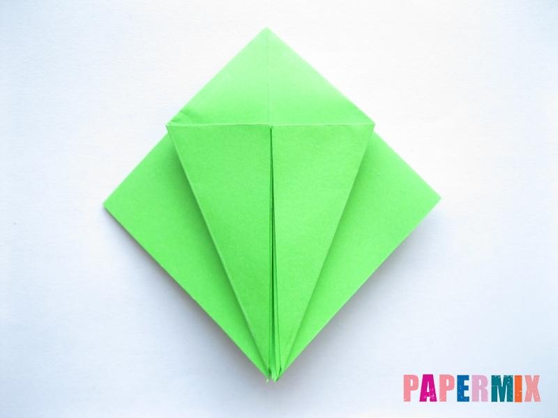 Как сделать пальму из бумаги (оригами) поэтапно - шаг 3