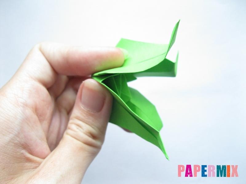 Как сделать пальму из бумаги (оригами) поэтапно - шаг 9