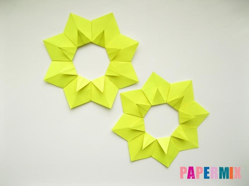 Как сделать подсолнух (оригами) своими руками - шаг 13