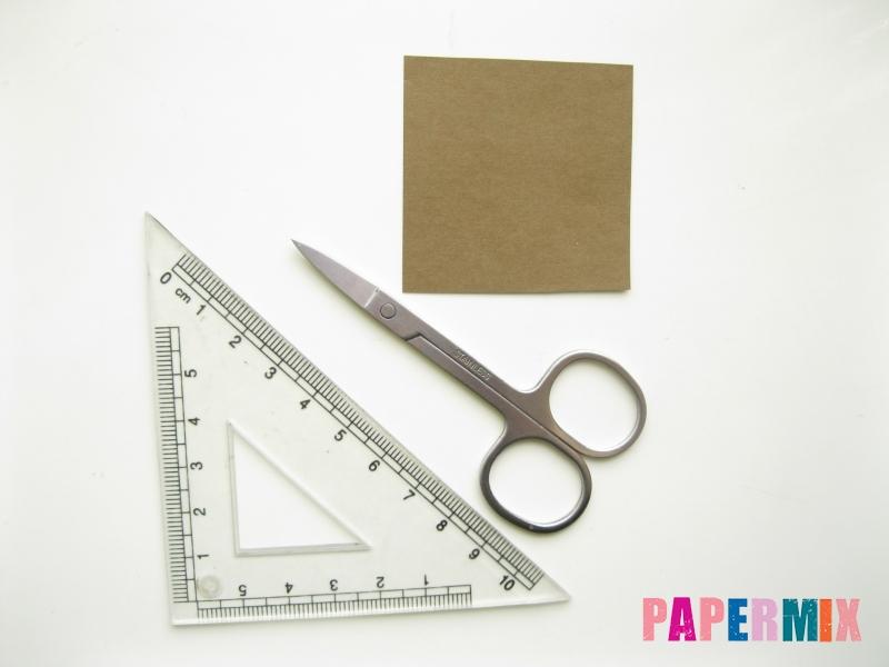 Как сделать подсолнух (оригами) своими руками - шаг 15