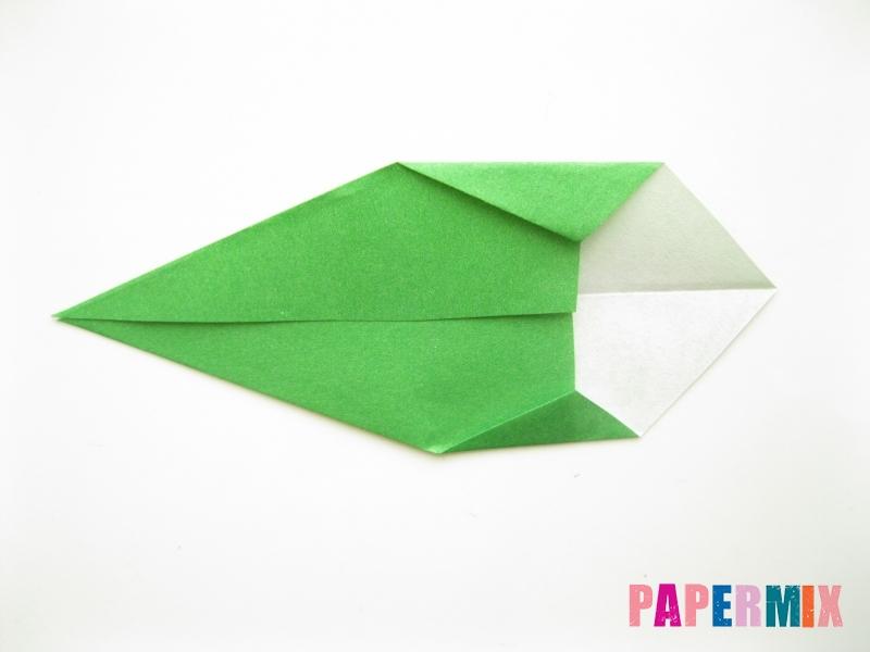 Как сделать подсолнух (оригами) своими руками - шаг 19