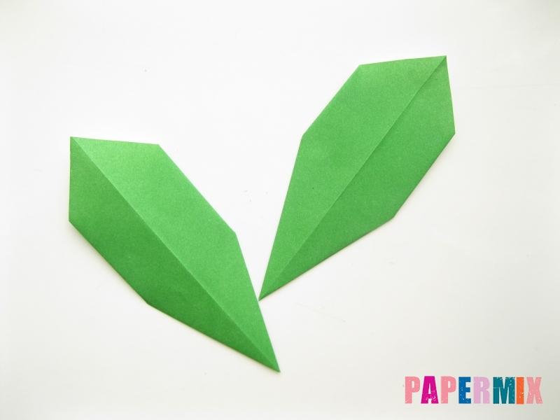 Как сделать подсолнух (оригами) своими руками - шаг 21
