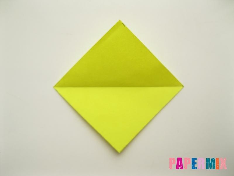 Как сделать подсолнух (оригами) своими руками - шаг 3