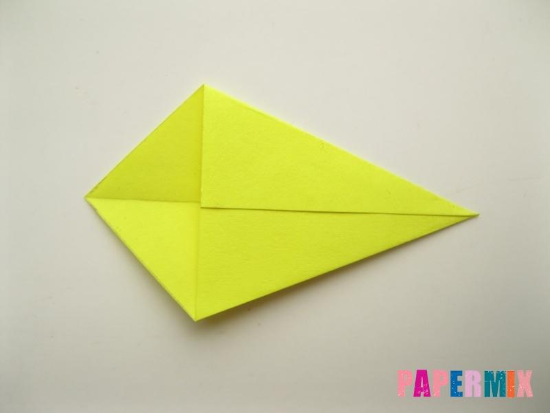 Как сделать подсолнух (оригами) своими руками - шаг 5