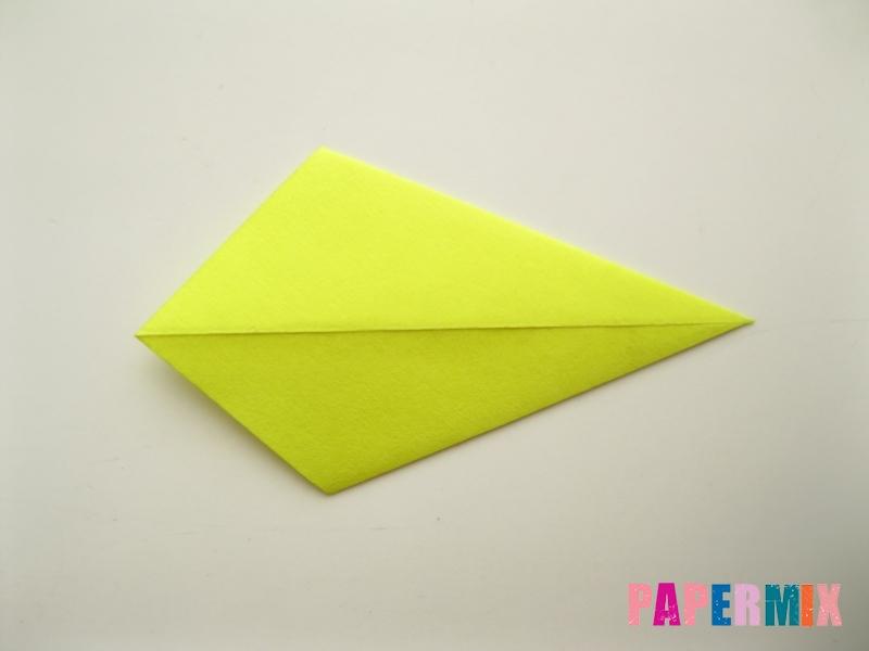 Как сделать подсолнух (оригами) своими руками - шаг 6