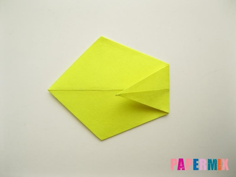 Как сделать подсолнух (оригами) своими руками - шаг 7
