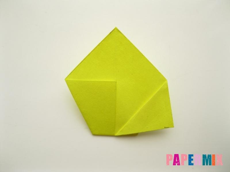 Как сделать подсолнух (оригами) своими руками - шаг 8
