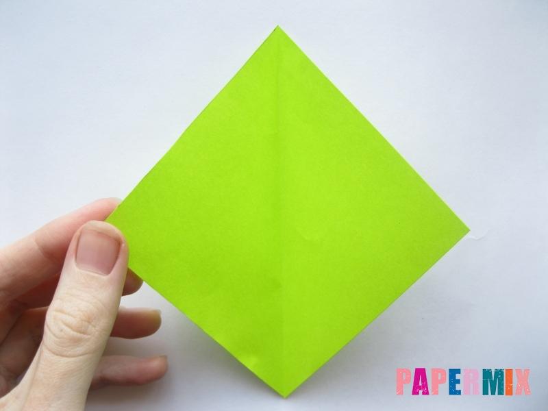 Как сделать простой тюльпан из бумаги поэтапно - шаг 11