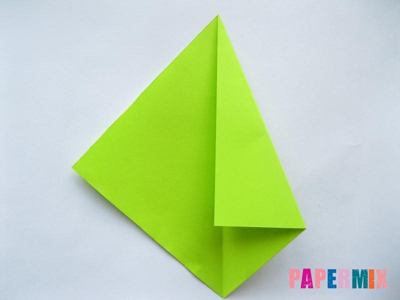 Как сделать простой тюльпан из бумаги поэтапно - шаг 12
