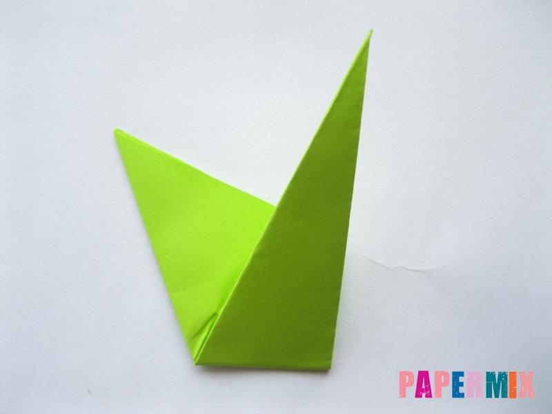 Как сделать простой тюльпан из бумаги поэтапно - шаг 16