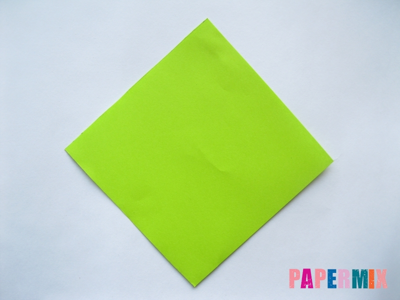 Как сделать простой тюльпан из бумаги поэтапно - шаг 9