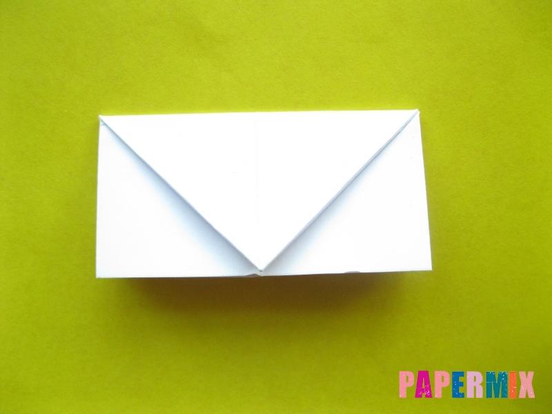 Как сделать розу из бумаги (оригами) поэтапно - шаг 12