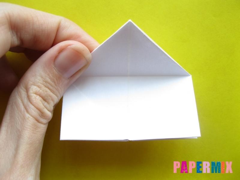 Как сделать розу из бумаги (оригами) поэтапно - шаг 13