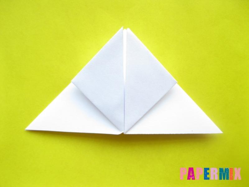 Как сделать розу из бумаги (оригами) поэтапно - шаг 8