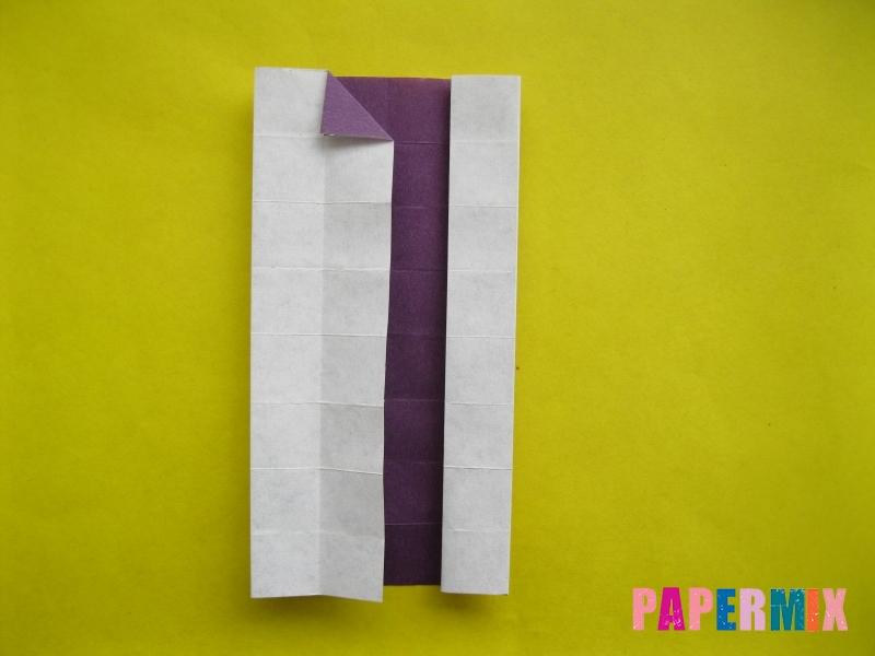Как сделать цифру 1 из бумаги (оригами) своими руками - шаг 11