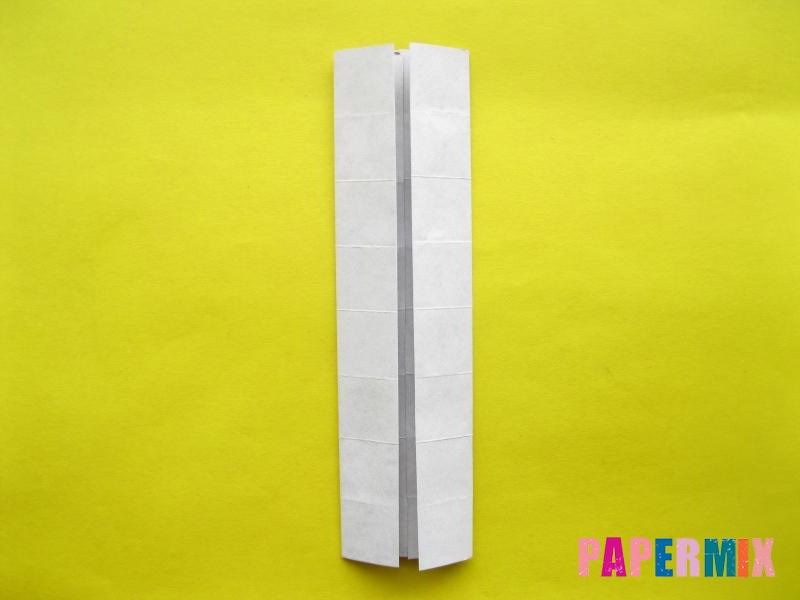 Как сделать цифру 1 из бумаги (оригами) своими руками - шаг 6