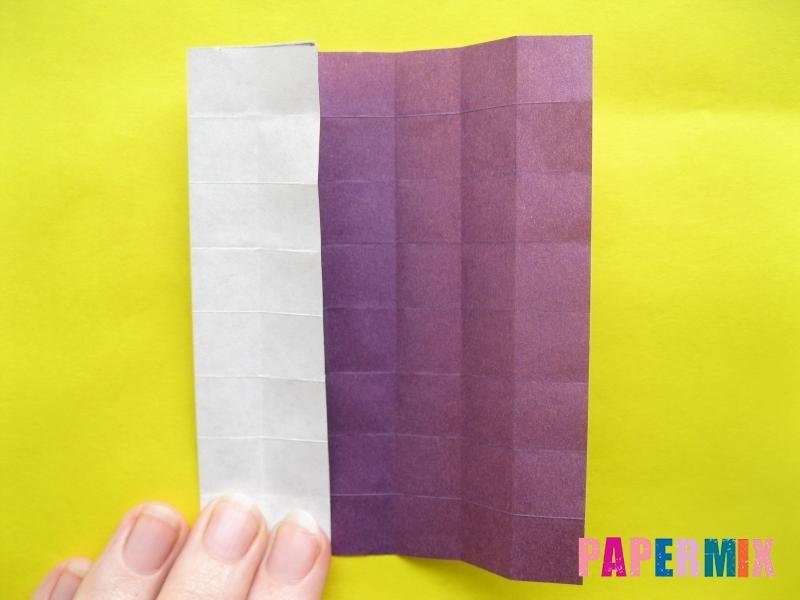 Как сделать цифру 1 из бумаги (оригами) своими руками - шаг 8