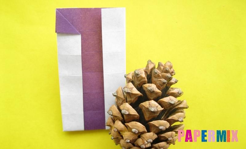Как сделать цифру 1 из бумаги в технике оригами своими руками