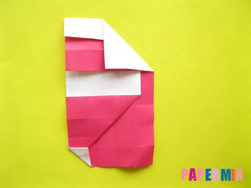 Как сделать цифру 2 из бумаги (оригами) своими руками - шаг 13