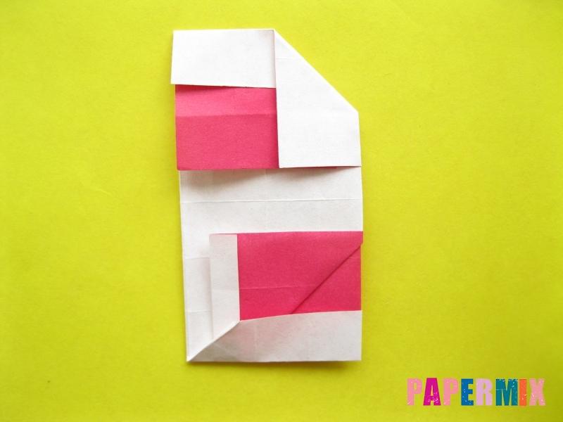 Как сделать цифру 2 из бумаги (оригами) своими руками - шаг 16