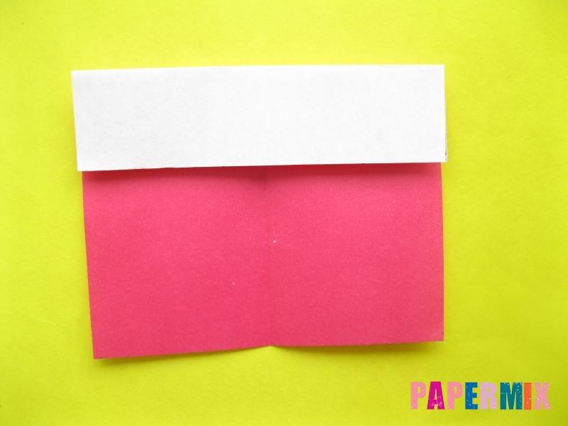 Как сделать цифру 2 из бумаги (оригами) своими руками - шаг 2