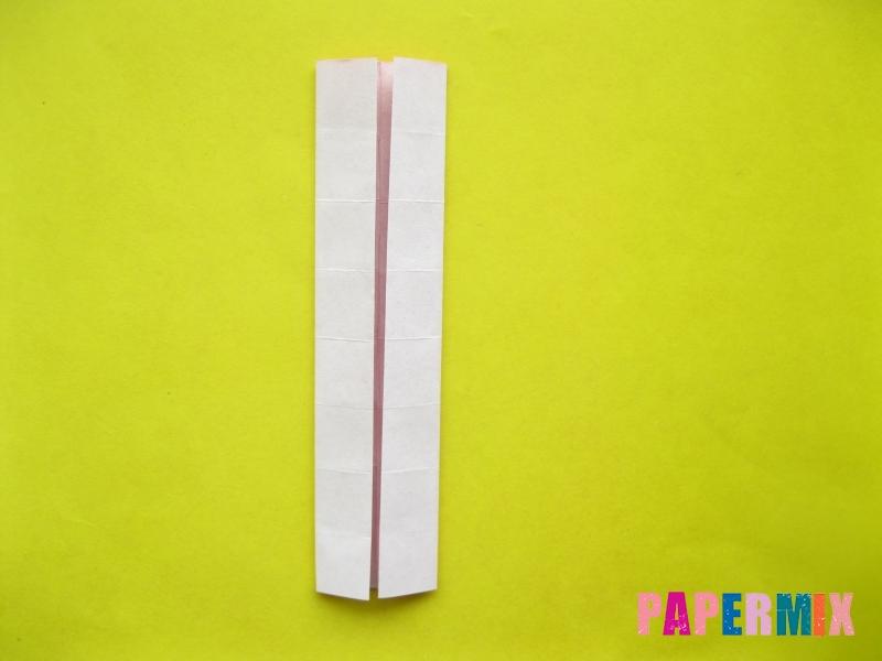 Как сделать цифру 2 из бумаги (оригами) своими руками - шаг 7