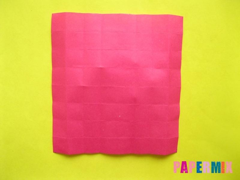 Как сделать цифру 2 из бумаги (оригами) своими руками - шаг 8