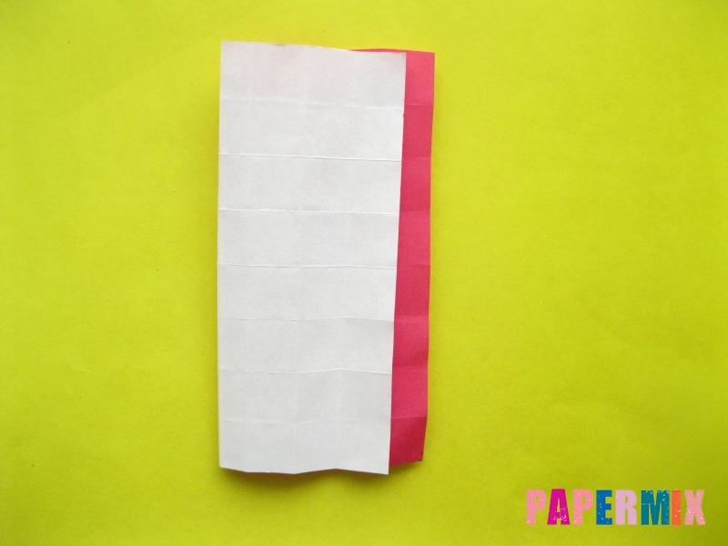 Как сделать цифру 2 из бумаги (оригами) своими руками - шаг 9