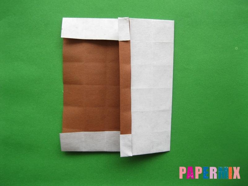 Как сделать цифру 3 из бумаги (оригами) своими руками - шаг 10