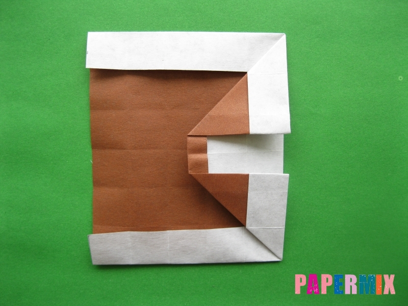 Как сделать цифру 3 из бумаги (оригами) своими руками - шаг 11