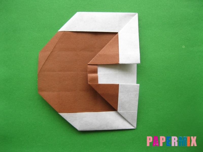 Как сделать цифру 3 из бумаги (оригами) своими руками - шаг 12