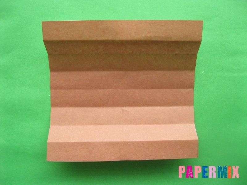Как сделать цифру 3 из бумаги (оригами) своими руками - шаг 4